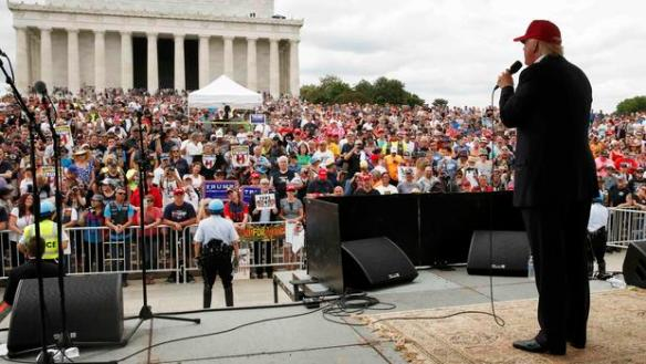 Trump DC Rally